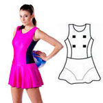 Lycra All In One Bodysuit - Style 2