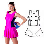 Lycra All In One Bodysuit - Style 3