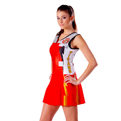 *Sublimated Lycra Bodysuit