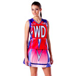 *Sublimated Lycra Netball Top