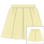 *Prestalene Knife & Front Inverted Pleated Netball Skirt