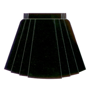 *Microfibre Netball Skirt with 6 pleats