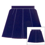 *Microfibre Knife & Front Inverted Pleated Netball Skirt