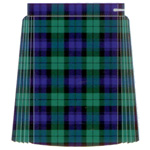 *Tartan Single Pleat Netball Skirt