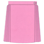 Prestalene Single Pleat Netball Skirt